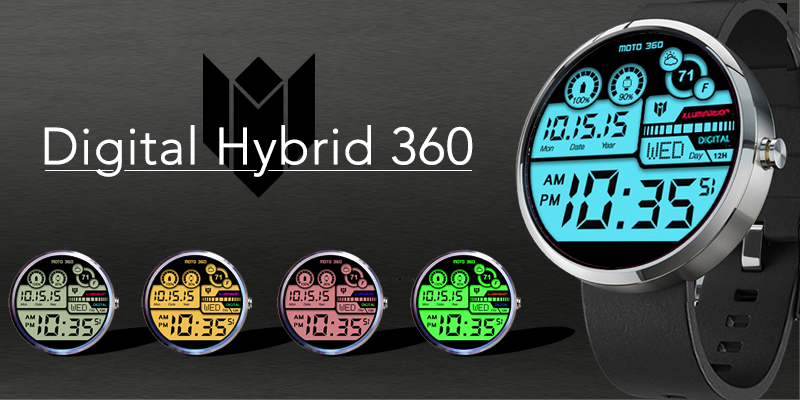 Watch Face for Moto 360